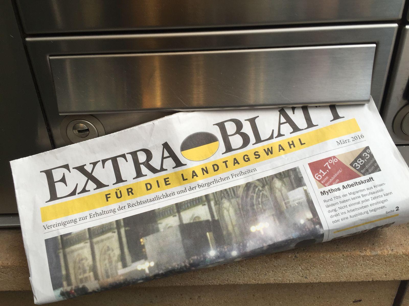 Extrablatt / AfD