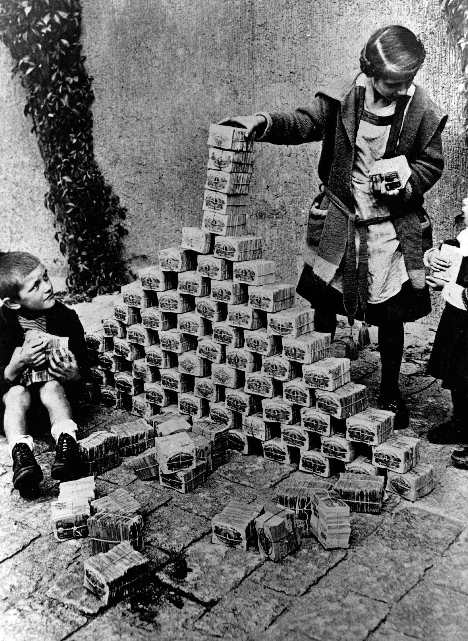 Deutschland / Hyper-Inflation 1923