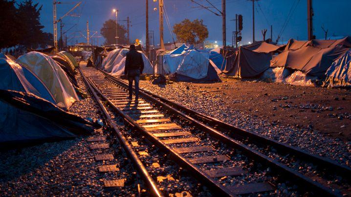 Flüchtlingslager: Leben in der Zeltstadt Idomeni