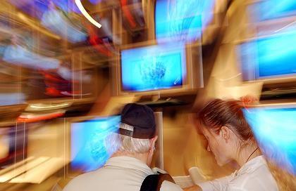 TV, wohin man sieht: einfach nur Zusehen ist Trend