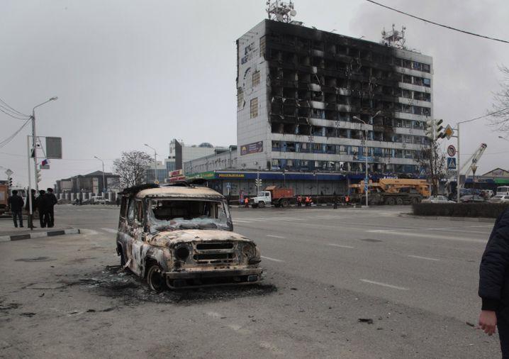 Tatort in Grosny: In wenigen Tagen jährt sich der Kriegsbeginn