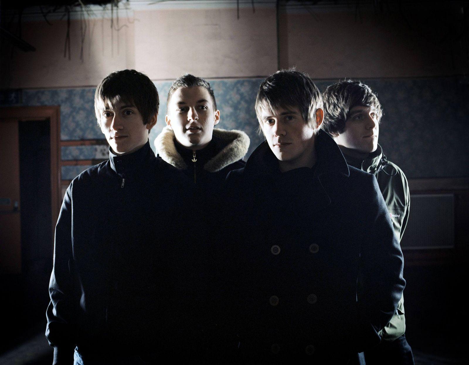 NICHT VERWENDEN Musikindustrie / Arctic Monkeys