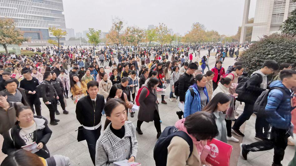 Dieses Foto aus Wuhan stammt vom 24. November 2019. Vermutlich war das Coronavirus zu diesem Zeitpunkt bereits im Umlauf.