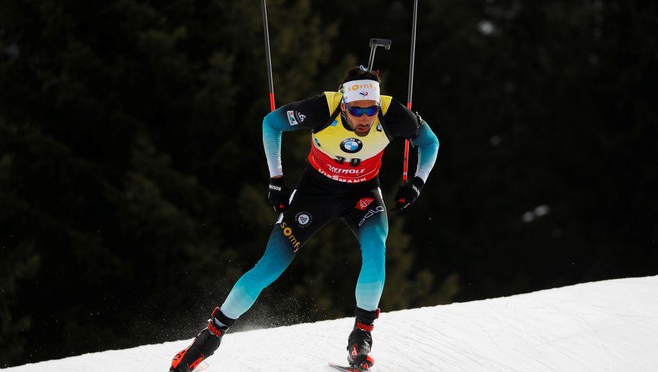 Martin Fourcade ist Weltmeister im Einzelrennen
