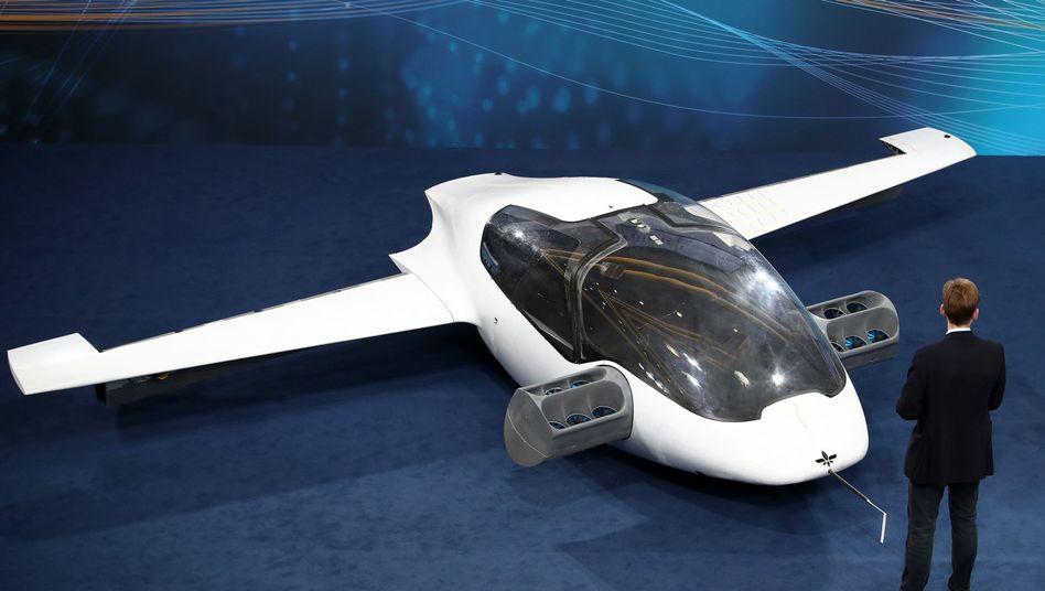 """Kritik an """"Lilium Jet"""": Lufttaxi-Startup weiter in Erklärungsnot"""