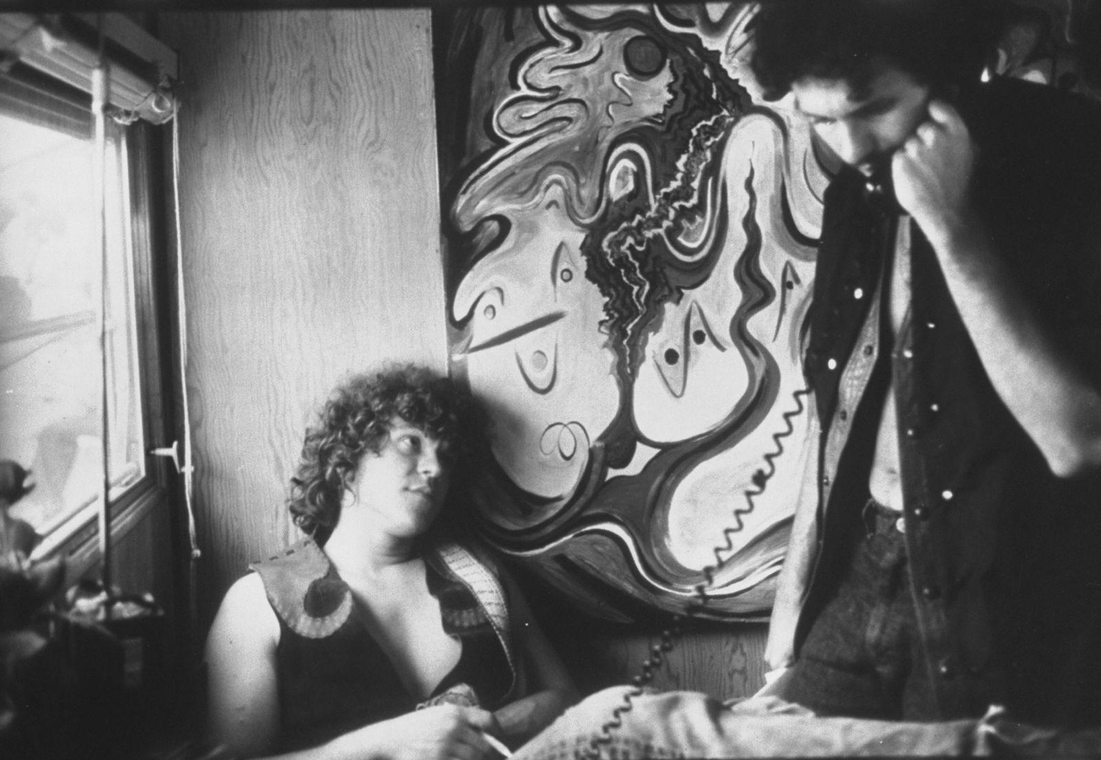 EINMALIGE VERWENDUNG Michael Lang/ Woodstock