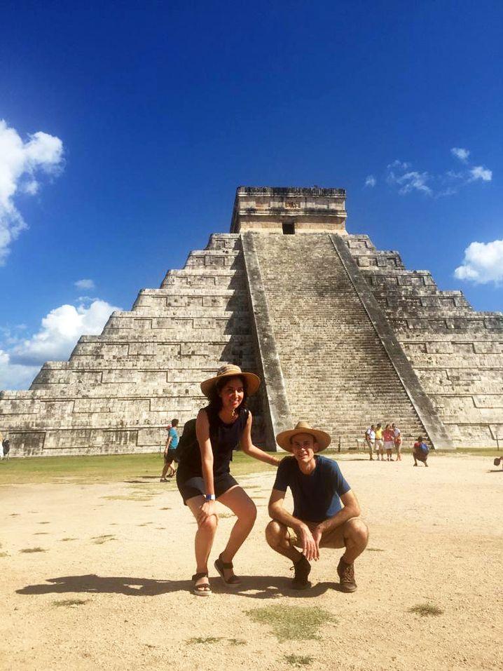 Hendrik Giersiepen und seine Frau, die aus Mexiko kommt