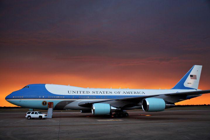 Air Force One (in Texas): Von Ronald Reagan geordert