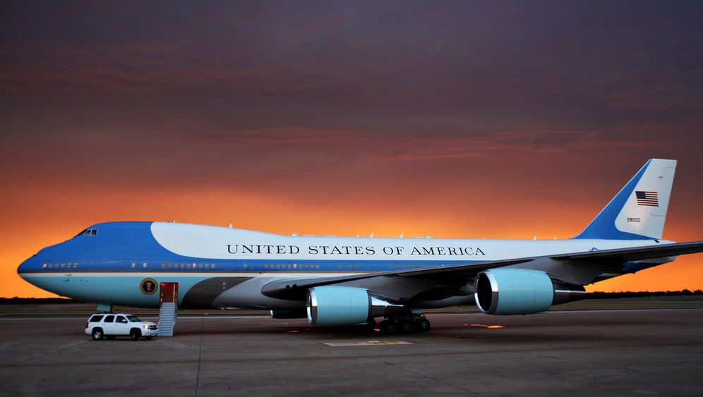 Obamas Berlin-Besuch: Air Force One, The Beast, Ritz
