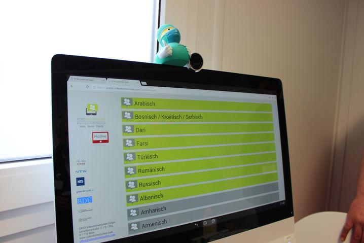 Video-Dolmetscher-System