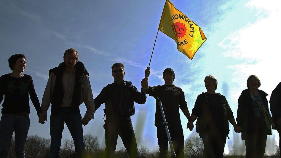 Anti-Atom-Demo in Stuttgart: Protestiert wird weiter