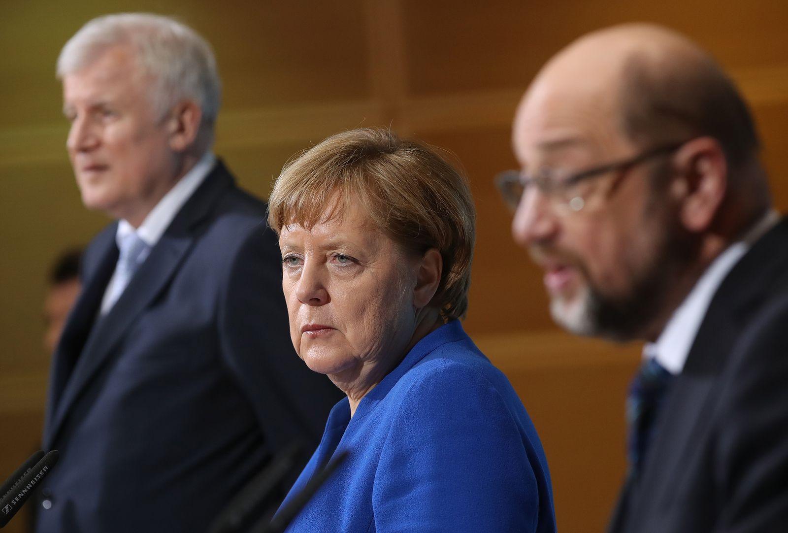 GroKo - Merkel