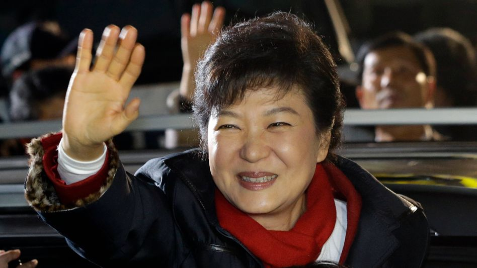 Wahlin Südkorea: Diktatoren-Tochter schlägt Menschenrechtler