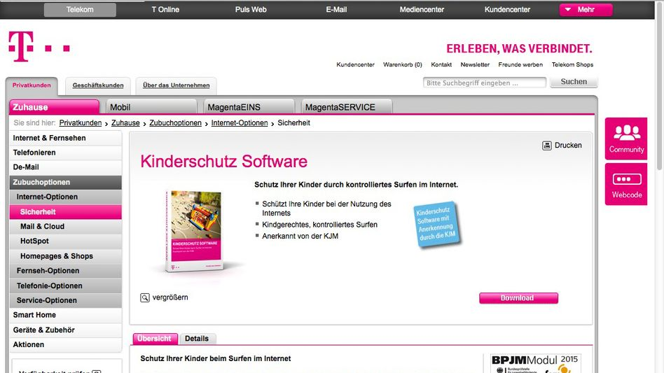 Kinderschutz-Software der Telekom: Die Übertragung der IP- und Mac-Adresse soll enden