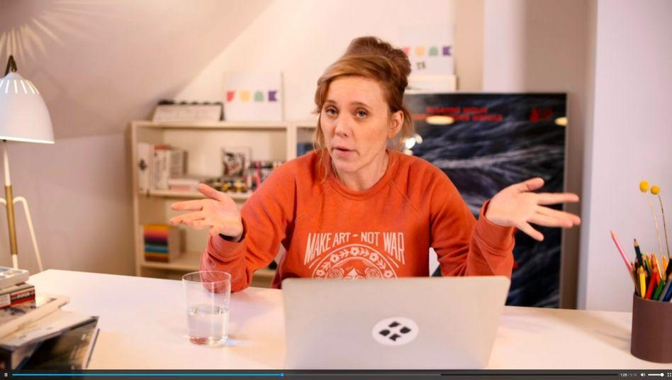 Öffentlich-rechtliches Lernen: Szene aus der ARD-alpha-Sendung »So geht MEDIEN«