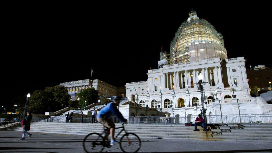 """Das US-Kapitol in Washington, D.C.: Republikaner stellen sich beim """"USA Freedom Act"""" quer"""