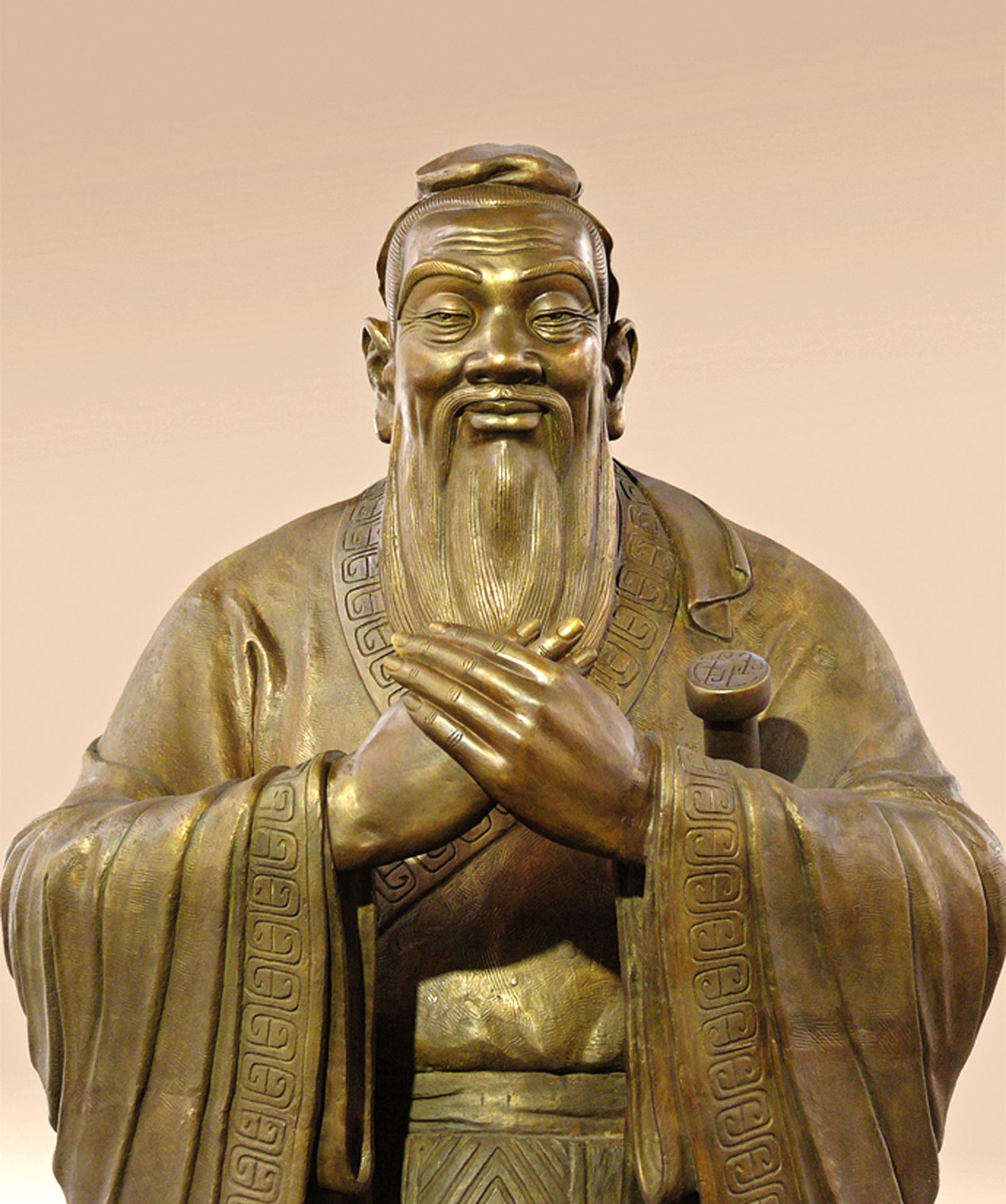 Statue des Konfuzius