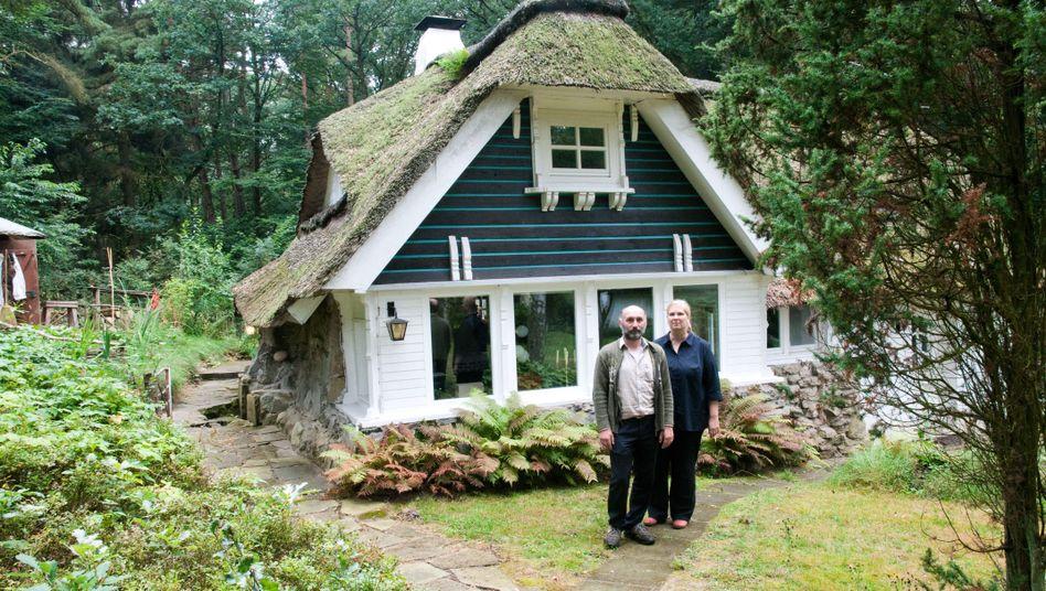Stadtflucht: Ebba und Jakobus Durstewitz zogen 2015 von Hamburg nach Schneverdingen.