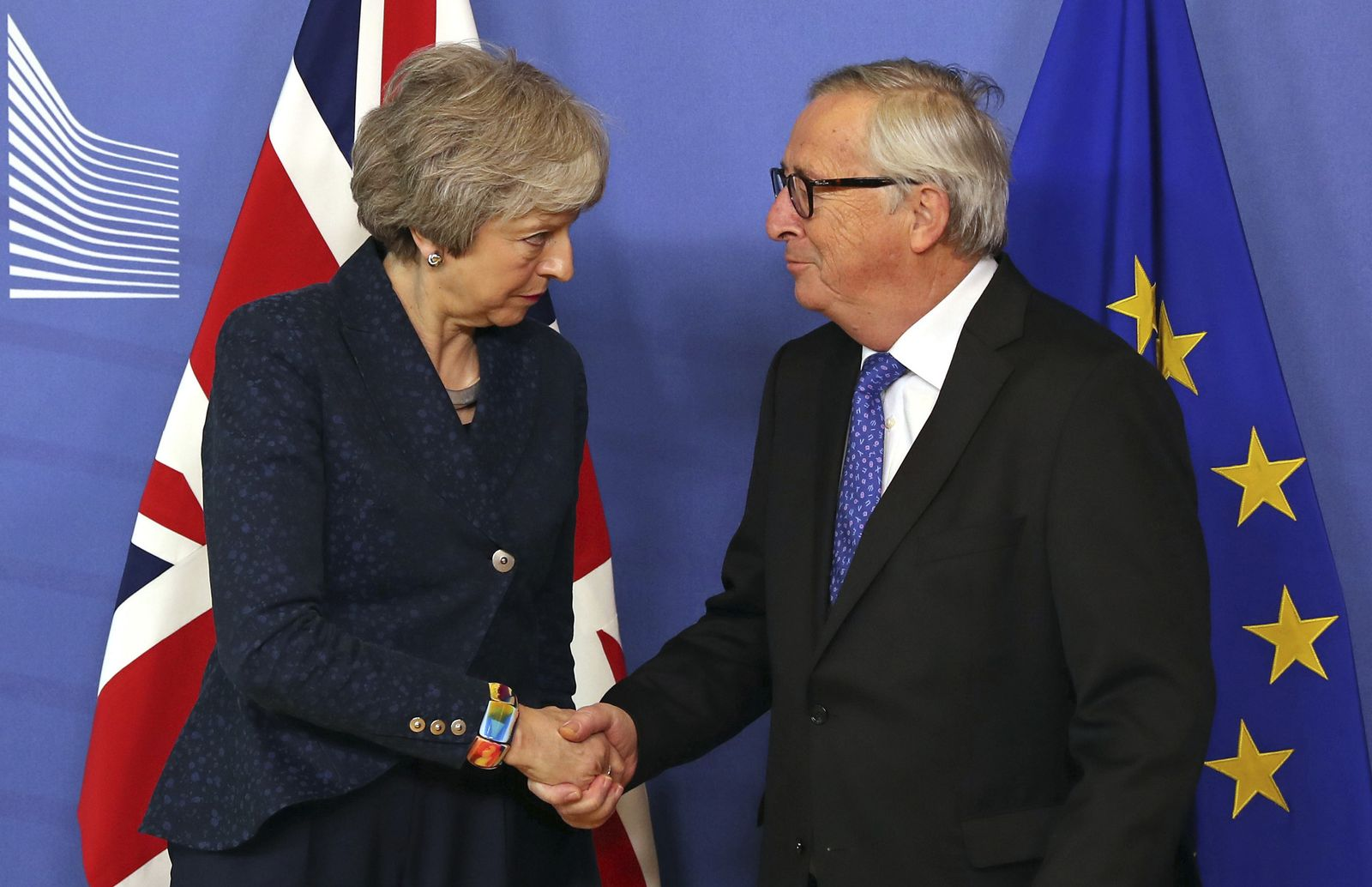 Brexit - May in Brüssel