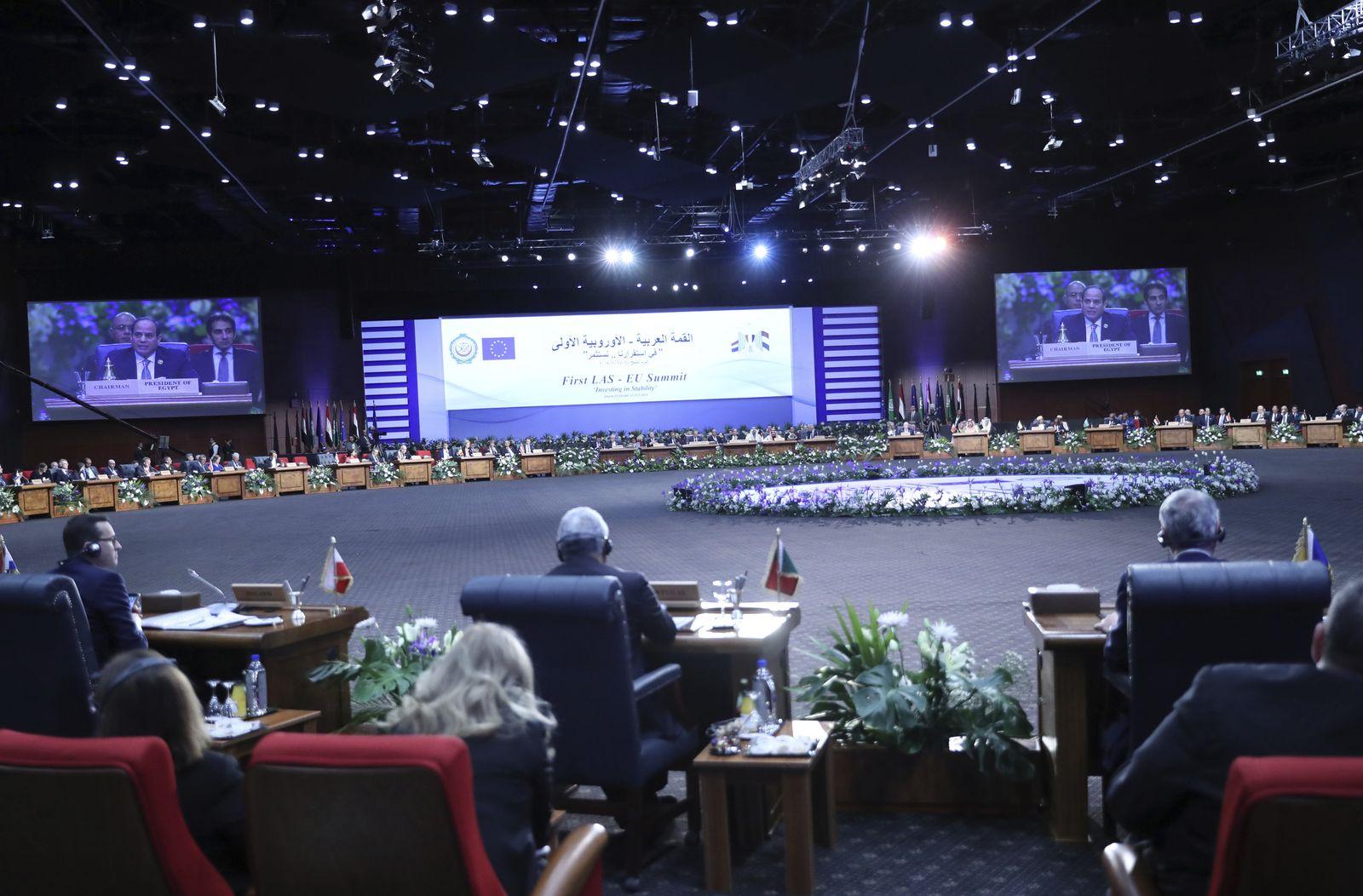 Egypt Europe Arab Summit