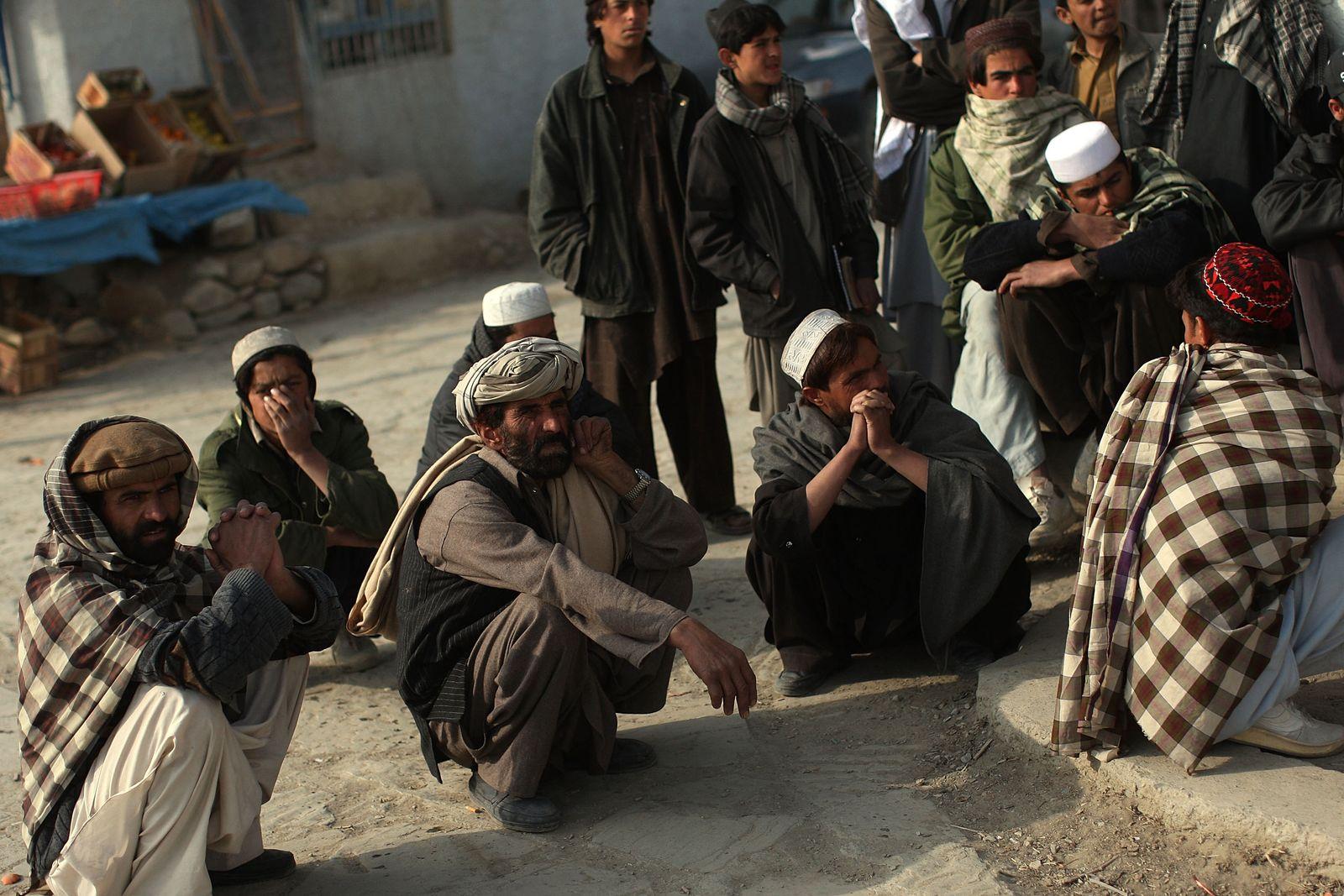 Afghanen / Zerak / Afghanistan