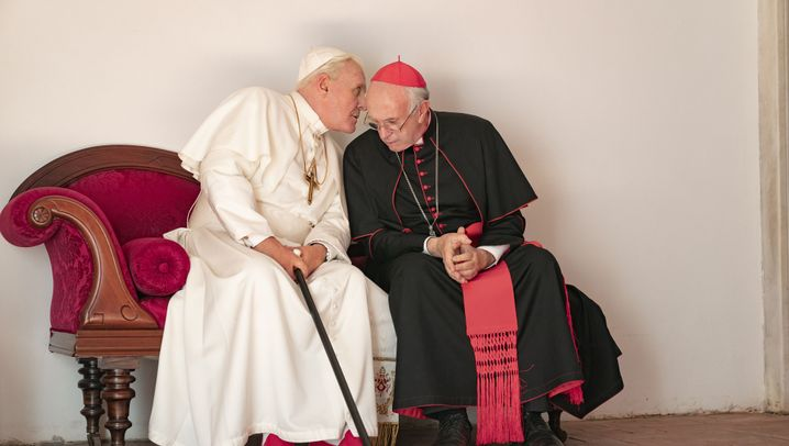 """""""Die zwei Päpste"""": Rote Schühchen, schwarze Schuh"""