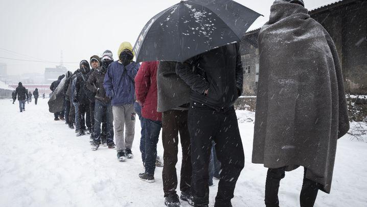 Balkanroute: Flüchtlingselend in Osteuropa