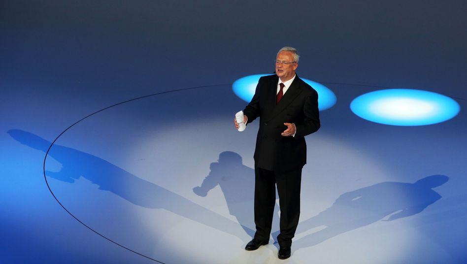 VW-Vorstandsvorsitzender Winterkorn (Archiv): VW tut sich in den USA schwer