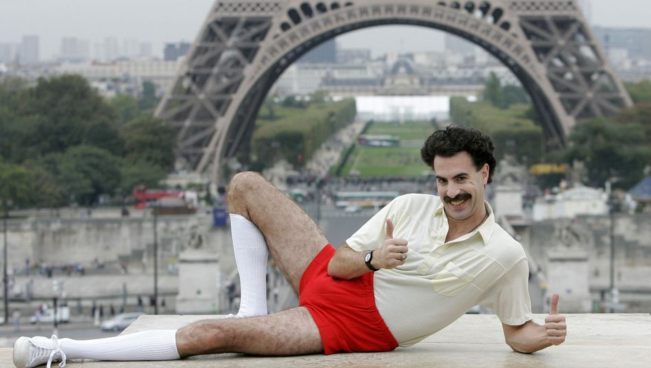 """Komiker Baron Cohen (als """"Borat""""): Echte Killer-Queen"""