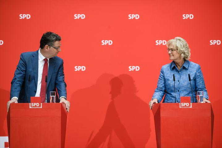 Thorsten Schäfer-Gümbel, Christine Lambrecht