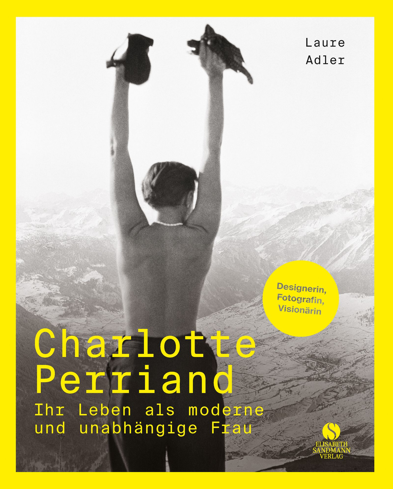 Buch/ Laure Adler: Charlotte Perriand COVER