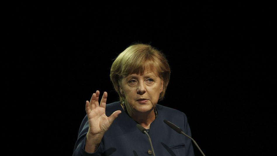 Kanzlerin Merkel: Erzürnt über Protestpapier aus den eigenen Reihen