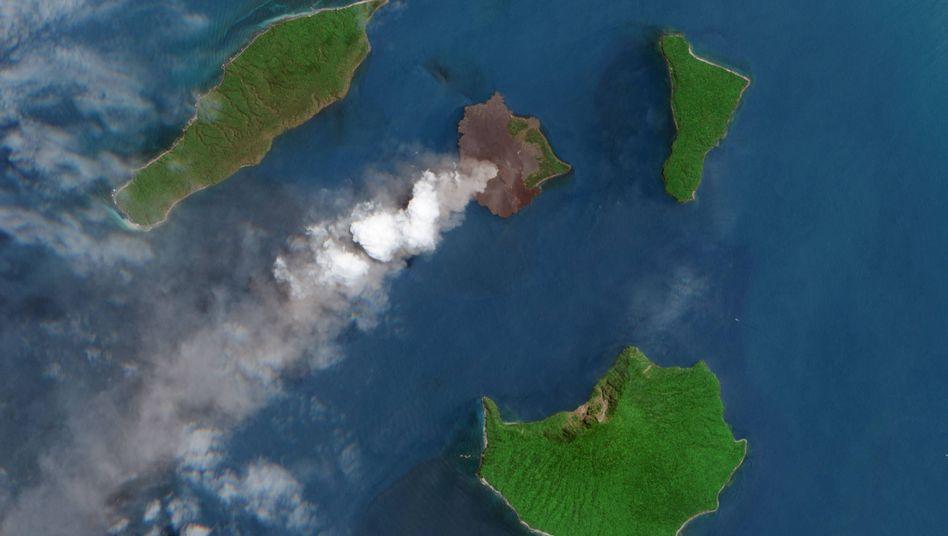 Tsunami von 2018: Der fatale Kollaps des Anak Krakatau