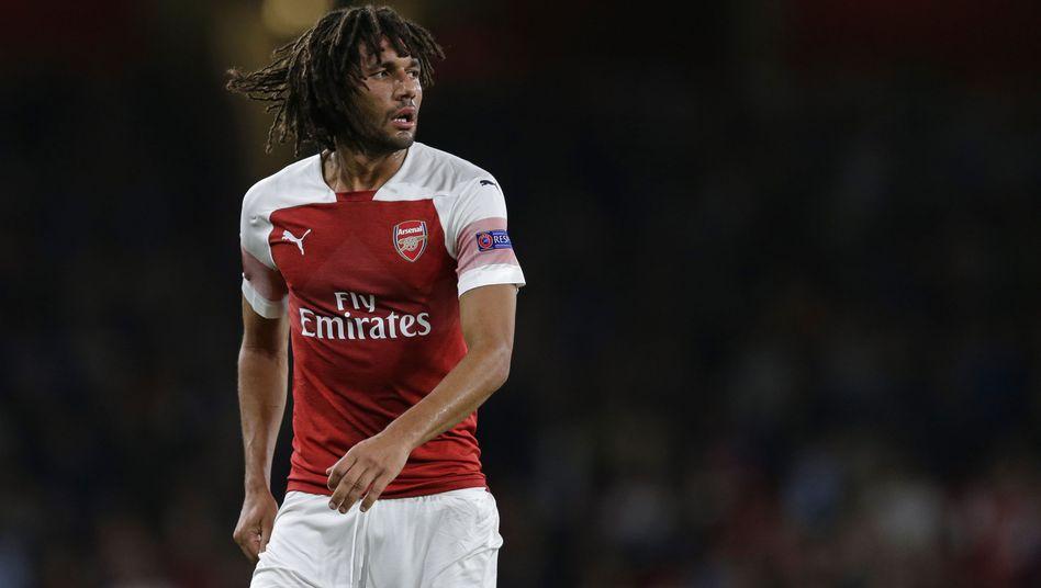 Mohamed Elneny vom FC Arsenal