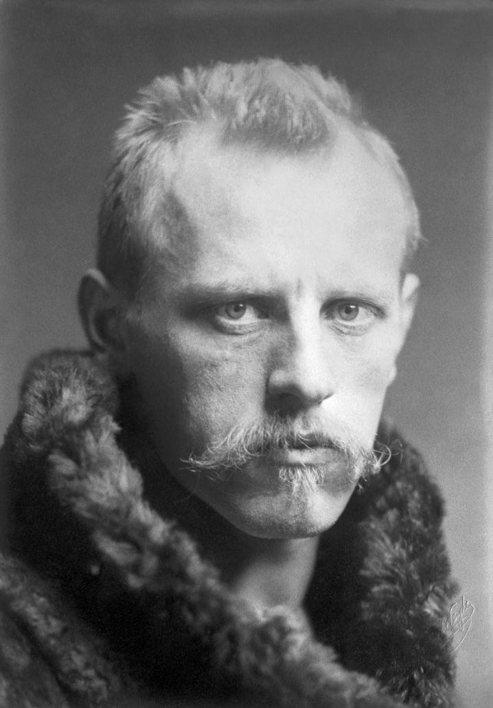 Entdecker Nansen um 1900