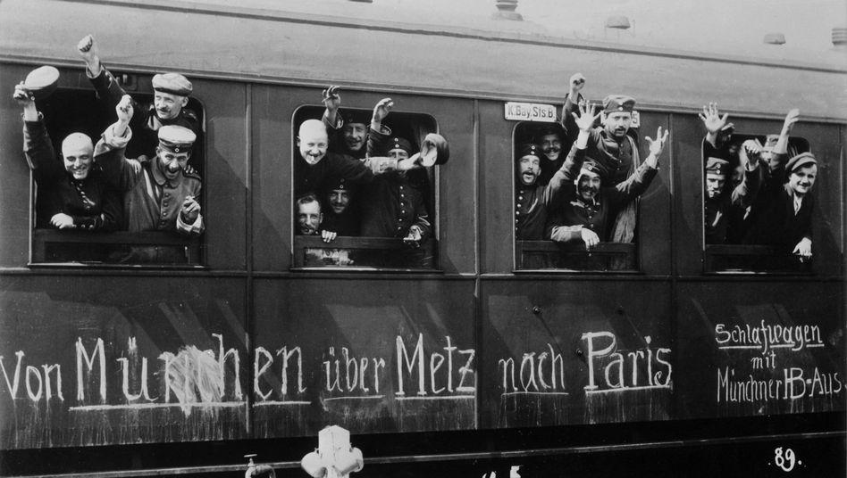 """Mobilmachung 1914 in Bayern: """"Sie taumelten hinein"""""""