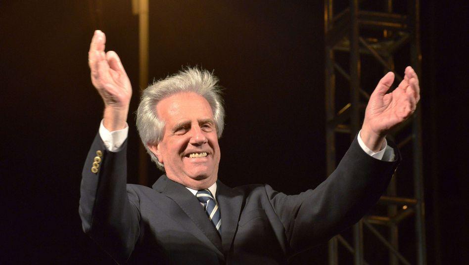 """Wahlsieger Vázquez: Aufruf zu """"gemeinsamen"""" Anstrengungen"""