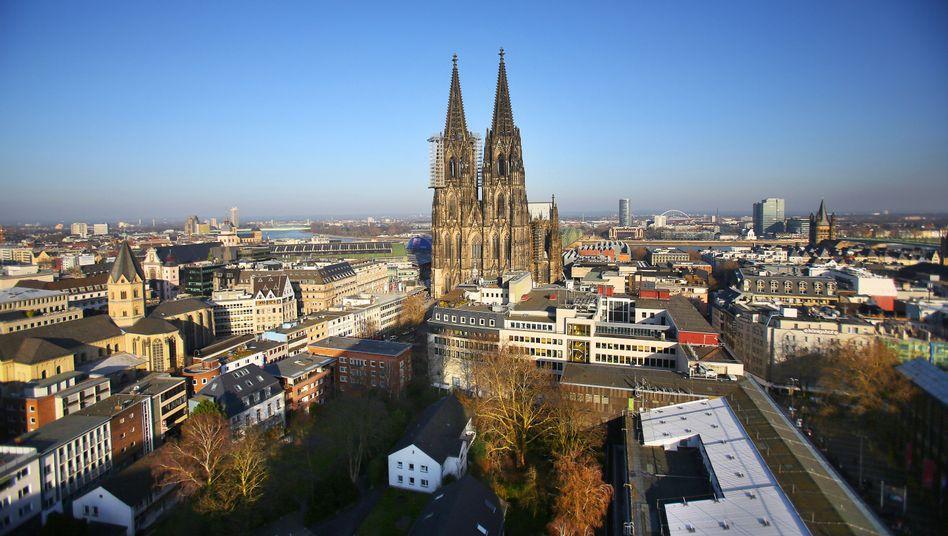 Skyline von Köln: Studenten finden deutlich schwieriger eine Wohnung