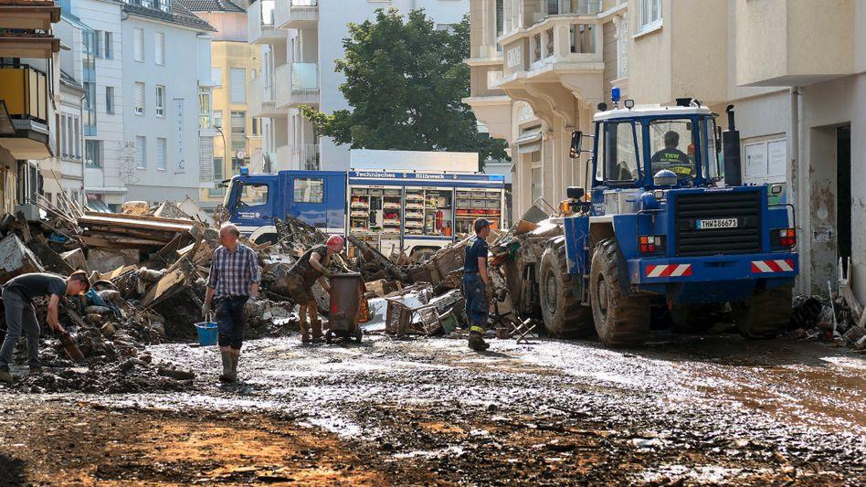 Einsatz des Technischen Hilfswerks in Ahrweiler: »Wir stellen uns auf Wochen ein«