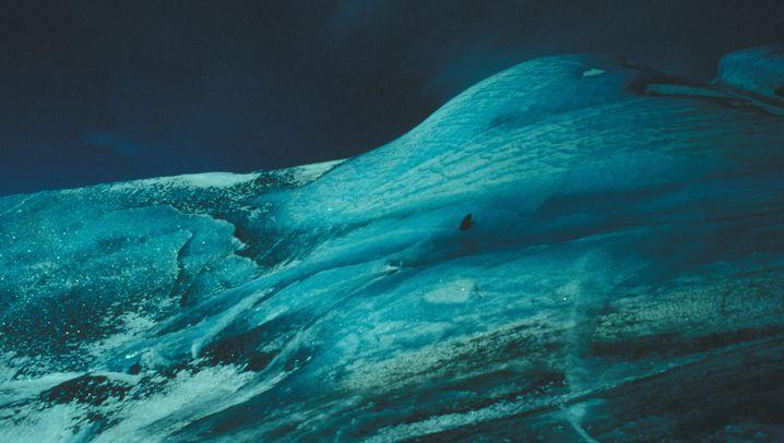 Grüne Eisberge: Zauberhafter Schimmer