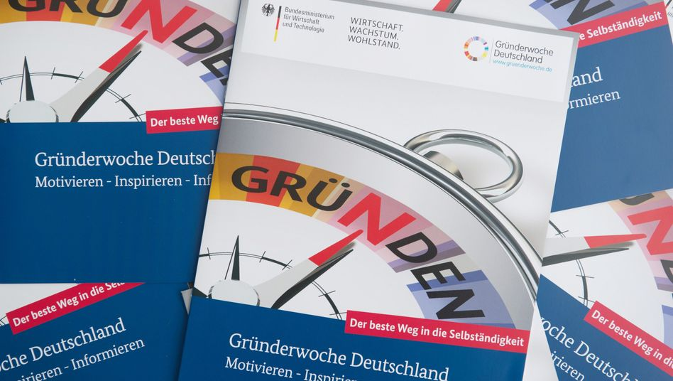 """Broschüren für Gründer: """"Große Existenzsorgen"""""""