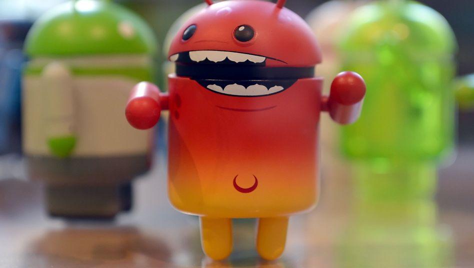 Android-Männchen im Berliner Google-Büro