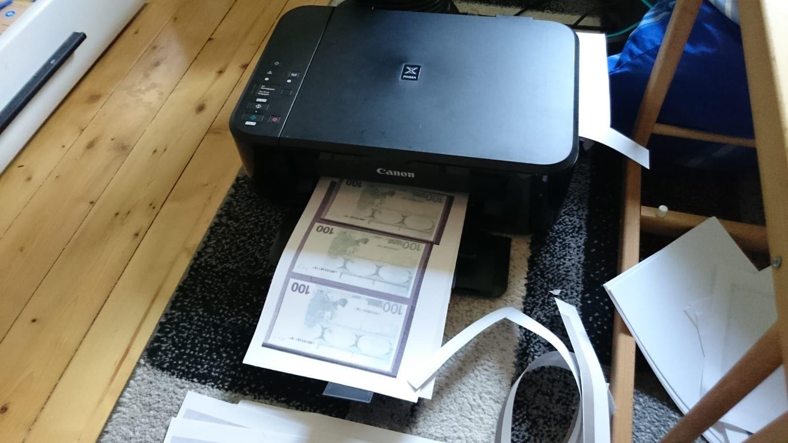 Beschlagnahme von Falschgeld
