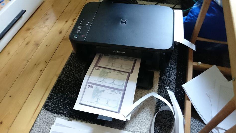 Wohnung in Pirmasens: Falschgeld aus dem Tintenstrahldrucker