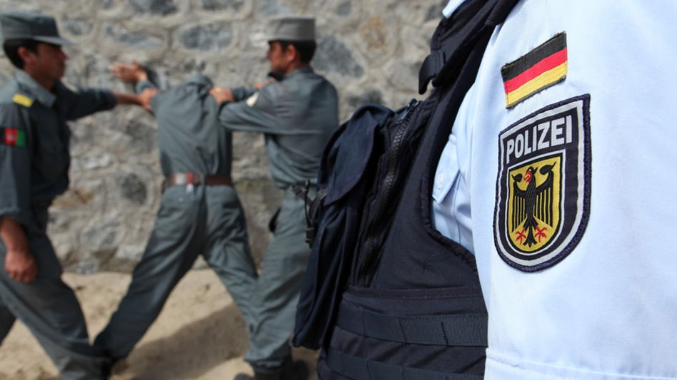 German police have trained thousands of Afghan security personnel. But some are concerned that the newly trained officers abandon the force and join the Taliban.