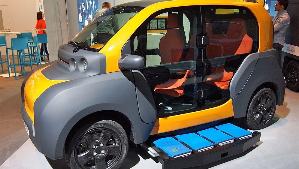 Elektroautos auf der IAA: Kleiner denken