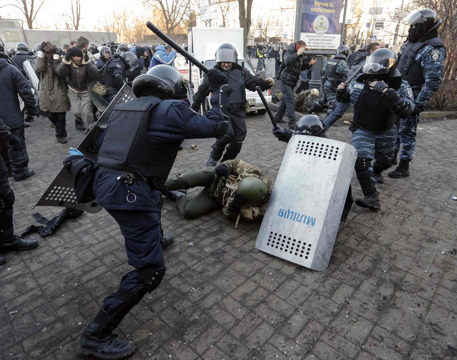 Ukraine/Kiew/Proteste