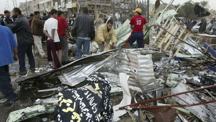 Photo Gallery: Death and Destruction in Baghdad on Nov. 23, 2006
