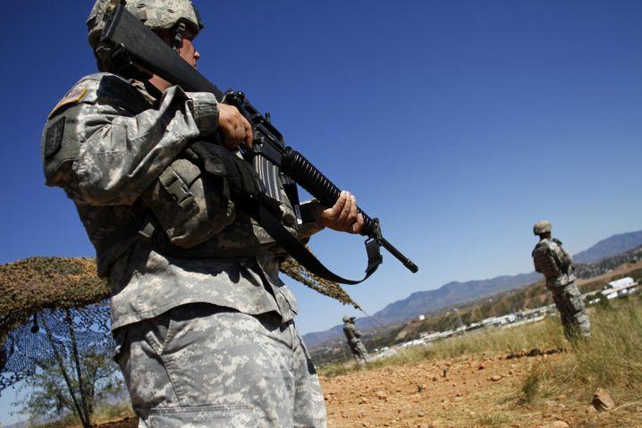 Kontrollen an der US-mexikanischen Grenze