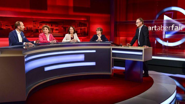 """Plasberg-Talk: """"Menschenrecht Wohnen"""""""